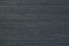 8818 Charcoal Grey Genuine Grasscloth Wallpaper - 7.32 metre long roll