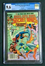 Marvel Super Heroes Secret Wars #3 Canadian Edition CGC 9.6 2109093014