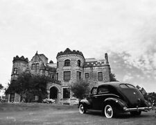 Classic Car Wall Art 1940 Ford Sedan Joslyn Castle Omaha Nebraska 8 x 10 Photo