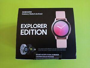 NEW Samsung Galaxy Watch Active 2 - Aqua Black 44mm - Explorer Edition - EU ver.