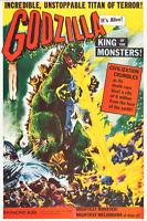 "Godzilla (Trans World, 1956). One Sheet (26.75"" X 41"") Very Fine Original Poster"