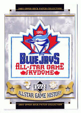 1991 ALL STAR GAME AT TORONTO BLUE JAYS MLB BASEBALL UPPER DECK PATCH