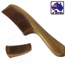 Green Sandalwood Comb Wooden Combs Healthy Handle Hair Gift JHCO53303