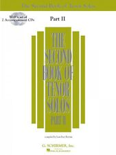 The Second Book of Tenor Solos Part II Book 2 CDs Pack Vocal Collectio 050485227