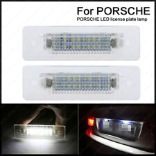 2X 18LED License Plate Light For Porsche 911 Carrera 964 968 986 993 996 Boxster