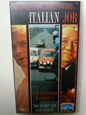 """The Italian Job"" - Great film with Michael Caine and Minis - video VHS - As new"