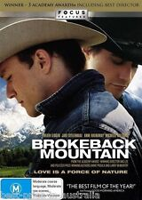 Brokeback Mountain DVD TOP 1000 MOVIES BEST PICTURE+DIRECTOR BRAND NEW SEALED R4