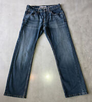 Levi Strauss Signature S61 Relaxed Denim Blue Jeans Mens Size 29X30 Pre-Owned