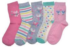 Cotton Blend Novelty, Cartoon 4-11 Multipack Socks for Women