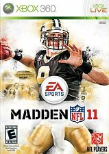 Xbox 360 Madden Nfl 11 Video Game Multiplayer Online Football Tournament 2011