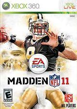 XBOX 360 Madden NFL 11 Video Game Multiplayer Online Footballl Tournament 2011