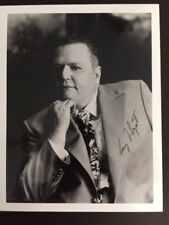 LARRY FLYNT SIGNED PHOTO OF FOUNDER HUSTLER MAGAZINE WITH COA