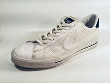 7c6ee487ca77 NIKE Sweet Classic 318333 Mens White Leather Casual Shoes Fashion Sneakers  US 12