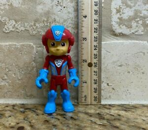 """Paw Patrol Mighty Pups Jet Ryder Mini Figure 3.5"""" Replacement Figure  Rare HTF"""