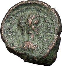 CARACALLA & GETA Rare 2 Portrait Roman Coin 198AD Nicopolis ad Istrum i55167