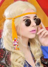 d07121d4af6 Hippie Hippy John Lennon Ozzy 60s 70s Round Specs Fancy Dress Glasses  Sunglasses