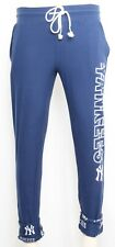 NEW Concept Sports New York Yankees NY Jogger Cuffed Tie Navy Pant Womens M