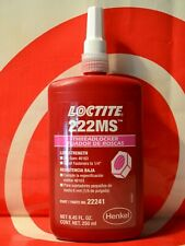 Loctite 222MS 250mL Low Strength Thread Locker   EXP 10/21  22241  FREE SHIPPING