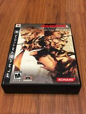 Metal Gear Solid 4: Guns of the Patriots -- Limited Edition (Sony PlayStation...