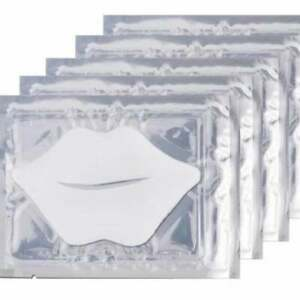 White Lip Mask Collagen Anti age Moisture Hydration Repair Full Lip Plumer UK