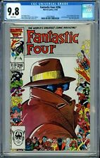 FANTASTIC FOUR 296 CGC 9.8 WP MARVEL 25th Anniversary Cover NON-CIRCULATED 1986
