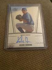 Kelvin Herrera autographed Baseball Card 2011 Leaf Draft #AUKH1 Rookie MLB MVP