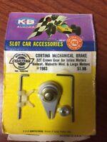 Vintage K&B Aurora Slot Car Cortina Mechanical Brake #1983 32 T Crown Gear