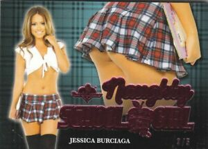 2020 BENCHWARMER HOT FOR TEACHER JESSICA BURCIAGA NAUGHTY SCHOOL GIRL BUTT /5
