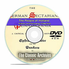 Holland People Cities Towns History and Genealogy 80 Books DVD CD B22