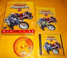 MOTO RACER 2 PC Versione Italiana 1ª Edizione Big Box ○○○○○ COMPLETO