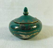 Rare boite en céramique de BOULOGNE André FAU & / Marcel GUILLARD ART-DÉCO 1920