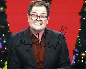 Alan CARR SIGNED Autograph 10x8 Photo 2 AFTAL COA Stand Up Comedian Chatty Man