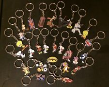 20 BIRTHDAY PARTY BAG FILLERS DISNEY/ CARTOON CHARACTER KEYCHAIN KEYRINGS CHARMS