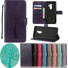 PU Leather Magnetic Flip Stand Card Slot Wallet Case Cover For Samsung S9 Huawei