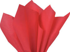 """Red Color Tissue Paper, 15x20"""" 50 or 100 sheets"""