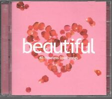2 CD COMPIL 40 TITRES--BEAUTIFUL LOVE SONGS--AGUILERA/PINK/USHER/TAKE THAT