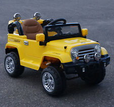Cars4kidS. RIDE ON CAR FOR KIDS JEEP STYLE  BATTERY OPERATED ELECTRIC R/C 12V