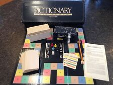 1985 First Edition PICTIONARY - The Game of Quick Draw 100% Complete VGC