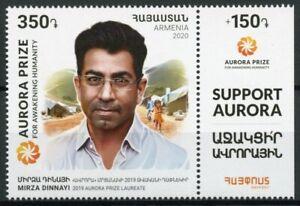 Armenia People Stamps 2020 MNH Mirza Dinnayi Aurora Prize Laureate 1v Set