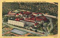 Postcard St Marys Hospital Tucson Arizona