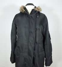 WET SEAL Black Jacket with Hood size L