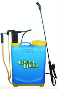 16 L Litre Knapsack Backpack Sprayer Pressure Spray Crop Garden Weed Pest Killer