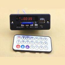 Digital led 5V MP3 decode with 2*3W amplifier + remote control/ usb SD fm Radio