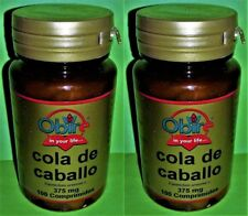 Cola de caballo 375 mg. 2x100 comprimidos OBIRE