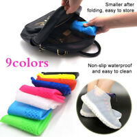 Silicone Waterproof Shoe Cover Rainproof Hiking Skid-proof Outdoor  Shoes Covers
