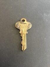 Vintage Brass Earle Key Door Lock #C35153