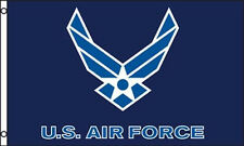 AIR FORCE FLAG 3'X5' 100% POLYESTER SOLD BY A VIETNAM VET