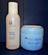 Nu Skin Nuskin Face Lift Powder with Activator sensitive Formula (Pack of Two)
