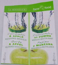 Face Mask - Cucumber & Apple