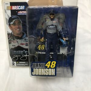 Nascar by Action McFarlane 2004 #48 Lowe's Jimmie Johnson Series 2 Brand new
